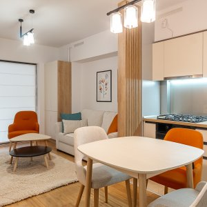 Studio superb New Times Residence + loc de parcare subteran