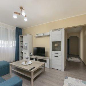 Apartament 4 cam Renovat si Mobilat modern Parc Drumul Taberei