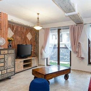 Alunisului - 2 camere - zona case-vile - mobilat lux